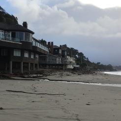 neat ocean front houses on stilts